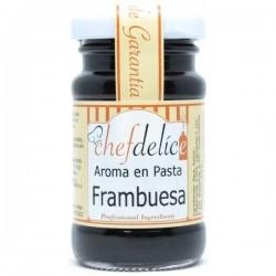 Frambuesa, aroma en pasta concentrado Chefdelíce