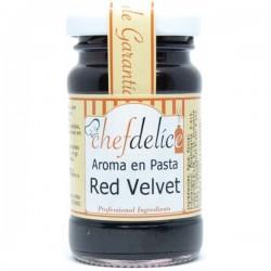 Red Velvet, aroma en pasta concentrado Chefdelíce
