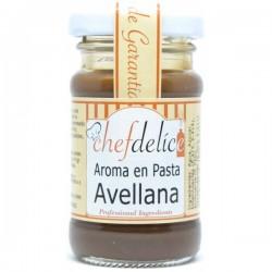 Avellana, aroma en pasta concentrado Chefdelíce