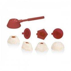 Porcionador de arroz con 4 moldes Teller