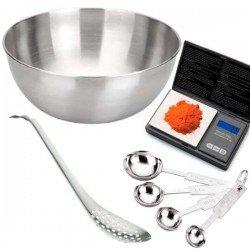 Kit de herramientas para hacer esferificaciones