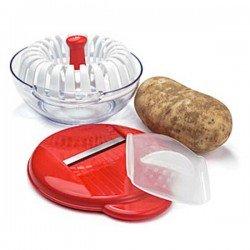 Set para hacer patatas chips en el microondas...