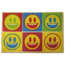 Felpudo emoticonos color smile