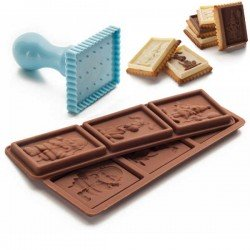 Kit para galletas con chocolatina petit de Ibili