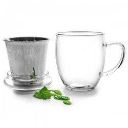 Taza con filtro para té de Ibili