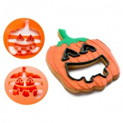 Cortapastas calabaza Halloween de Ibili