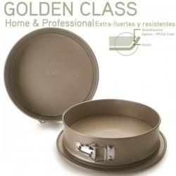 Molde redondo desmontable con base Golden Class de Ibili