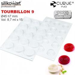 Molde Tourbillon 9 CurveFlex de Silikomart