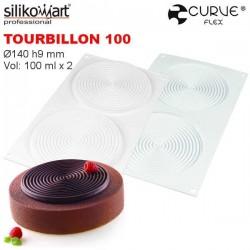 Molde Tourbillon 100 CurveFlex de Silikomart
