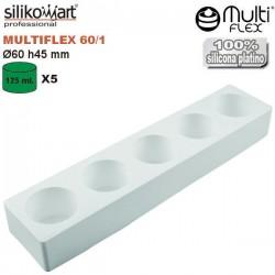Molde cilindros 60 mm Multiflex de Silikomart