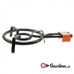 Paellero clásico para gas butano y propano. Garcima
