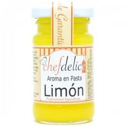 Limón, aroma en pasta emulsión ChefDelice.