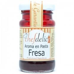 Fresa, aroma en pasta emulsion Chefdelice.