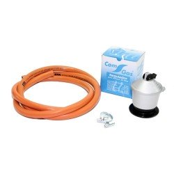 kit de gas para paelleros con regulador de 30 mbar