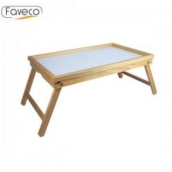 Bandeja de desayuno de madera de Faveco