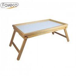 Bandeja desayuno de madera Faveco