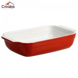 Fuente rectangular de gres Crealys