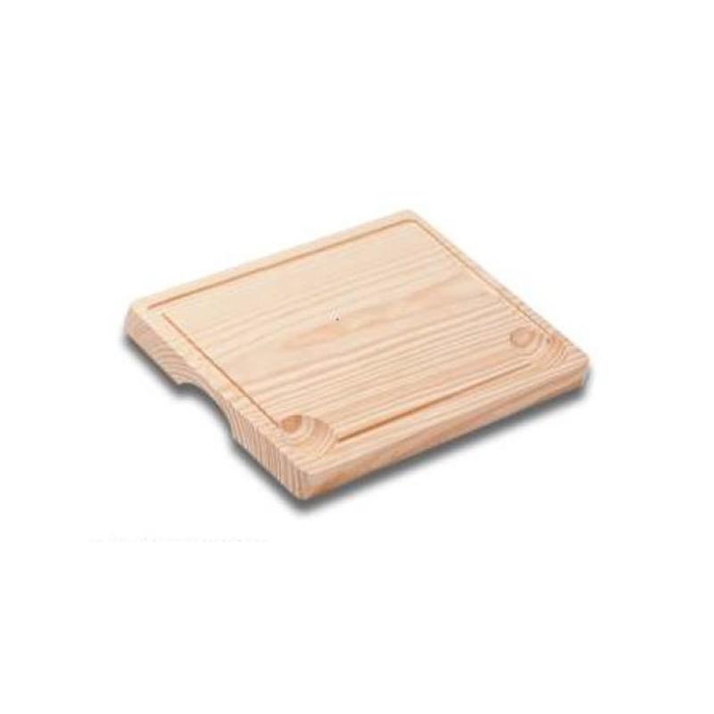 Tabla de madera para churrasco