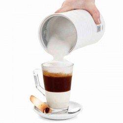 Espumador calentador de leche eléctrico de Lacor