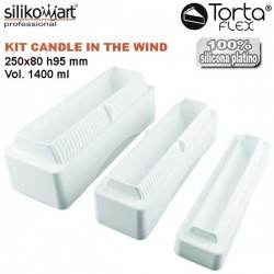 Kit Candle in the wind 1400 TortaFlex de Silikomart
