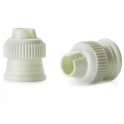 Adaptador de boquillas y cornetes para mangas pasteleras de Ibili