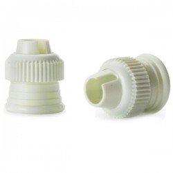 Adaptador de boquillas y cornetes nº 1 pequeño para mangas pasteleras