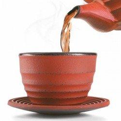 Set de 2 tazas y platos de hierro fundido Ceylan de Ibili