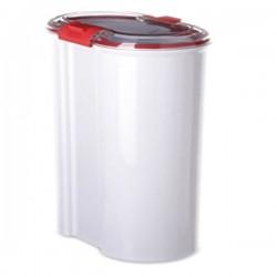 Bote hermético para alimentación color blanco con cierre de seguridad de Tatay