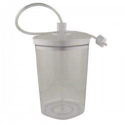Bote de 2 litros para maquinas de envasado al vacío de Garhe