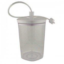 Bote de 2 litros para maquinas de envasado al...