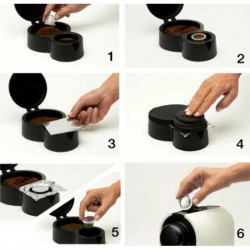 Envasador de cápsulas café y té de Ibili