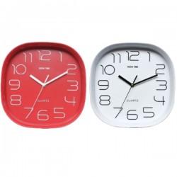 Reloj de pared retro cuadrado de Kook Time