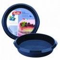 molde alto de silicona tartas y bizcochos de Ibili