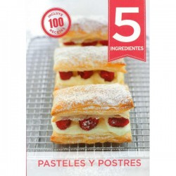 5 Ingredientes, Pasteles y Postres