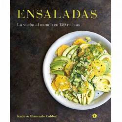 Ensaladas , la vuelta al mundo en 120 recetas