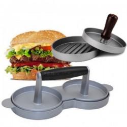Molde prensa hamburguesas metalico