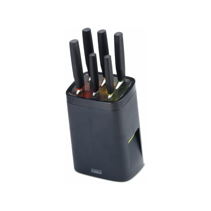 Taco 6 cuchillos con sistema de bloqueo de Joseph Joseph