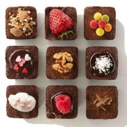 Molde de silicona Mini Brownies ( 24 u. ) de Lékué