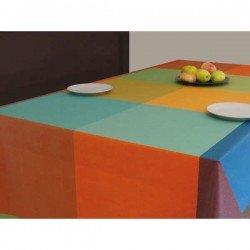 Hule de mesa Durero Multi serie Cuadro Tejido. Al corte
