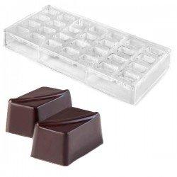 Molde profesional rectangular para bombones de...