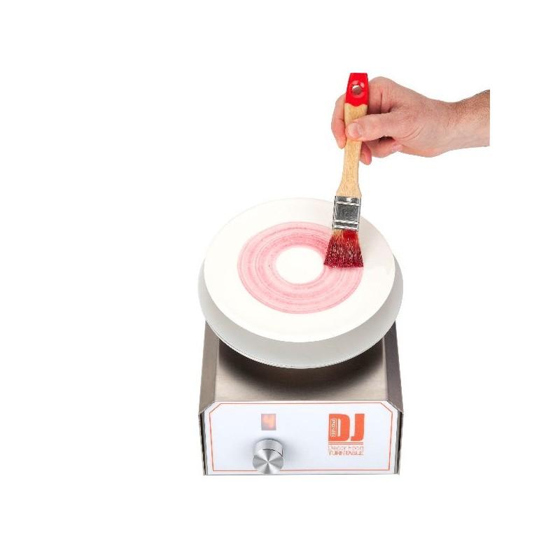 Soporte giratorio automático DJ Decor Food TurnTable