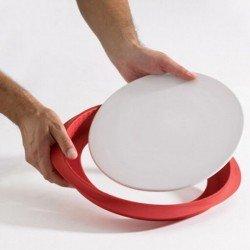Molde Quiche de silicona y base de cerámica de...