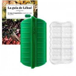 """Kit papillote silicona con filtro + libro """"La guía de Lékué"""""""