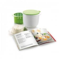 """Kit de queso fresco + libro """"mi queso fresco"""" Lékué"""