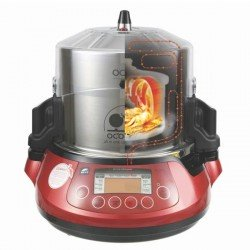 Olla de doble cocción y presión automática OCOO