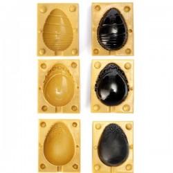 Molde huevos de pascua SugarFlex Gold de Silikomart