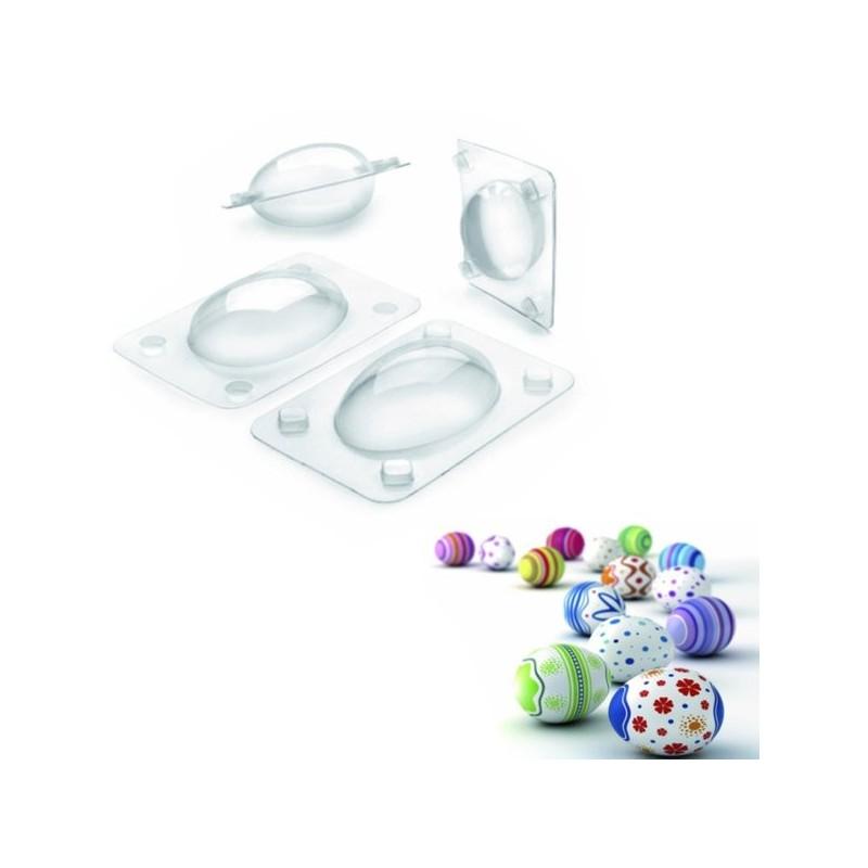 Set 3 moldes huevos de Pascua de Ibili