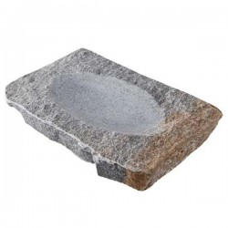 Plato con bañera Rústico Hondo de 100% Chef