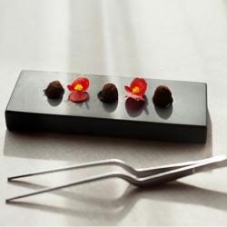 Plato de mármol Petitfour de 100% Chef