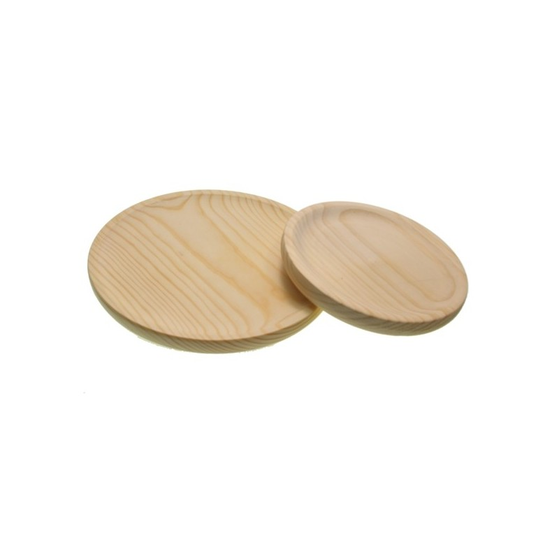 Plato de pulpo madera natural